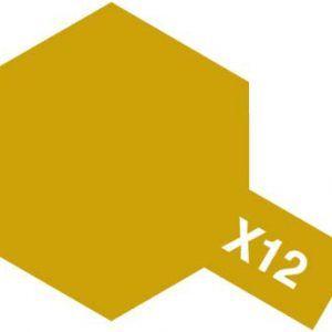 Acrylic Mini X-12 Gold Leaf