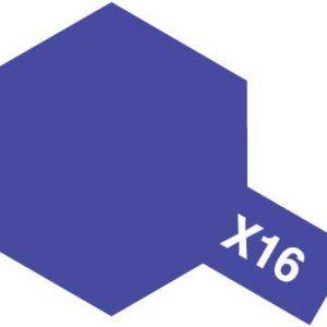 Acrylic Mini X-16 Purple