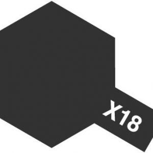 Acrylic Mini X-18 Semi Gloss Black
