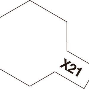 Acrylic Mini X-21 Flat Base