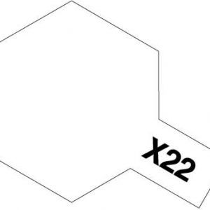 Acrylic Mini X-22 Clear