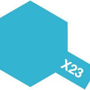 Acrylic Mini X-23 Clear Blue