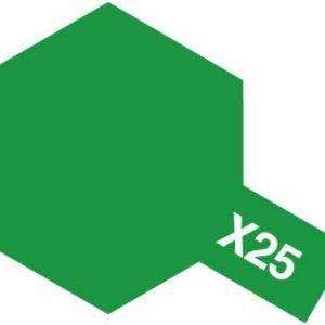 Acrylic Mini X-25 Clear Green