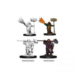 Dungeons & Dragons: Male Dwarf Cleric