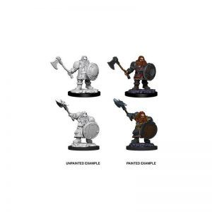 Dungeons & Dragons: Male Dwarf Fighter