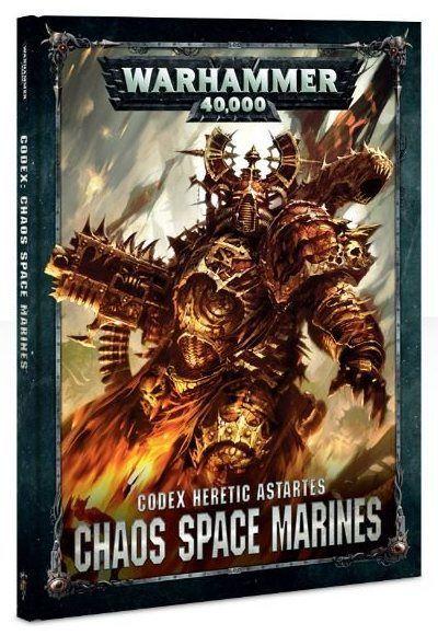 Codex: Chaos Space Marines 8ª Edición – Warhammer 40,000