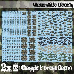 Calcas Al Agua – Camuflaje Bosque Clasico