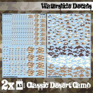 Calcas Al Agua – Camuflaje Desierto Clasico