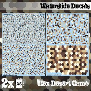Calcas Al Agua – Camuflaje Desierto Hex