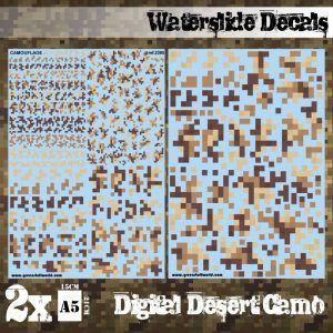 Calcas Al Agua – Camuflaje Desierto Digital