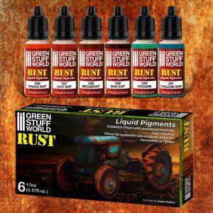 Set Pigmentos Liquidos – Oxido