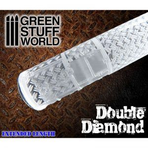 Rodillo Texturizado Doble Diamante