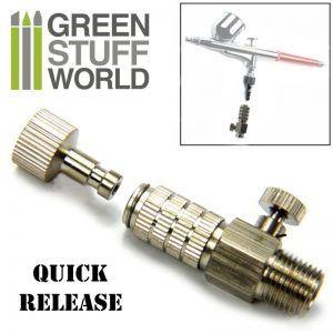 Conector QuickRelease 1/8 Con Regulador