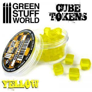 Tokens Cubos Amarillos