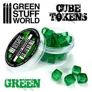 Tokens Cubos Verdes