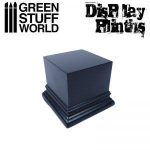 Pedestal Cuadrado 6×6 Cm – Negro