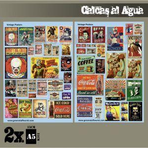 Calcas Al Agua – Posters Vintage