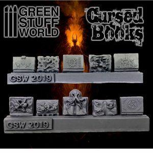 Libros Monstruosos De Resina