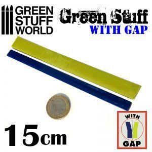 Masilla Verde En Rollo 15 Cm