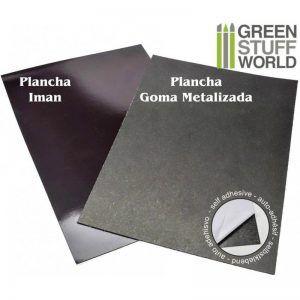 Planchas Iman Y Goma Metalizada AUTOADHESIVO