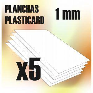 Plancha Plasticard 1 Mm – COMBOx5 Planchas