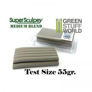 Super Sculpey Medium Blend 55 Gr. – FORMATO TEST