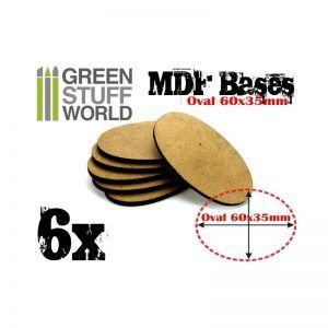 Peanas DM – Ovaladas AOS 60x35mm