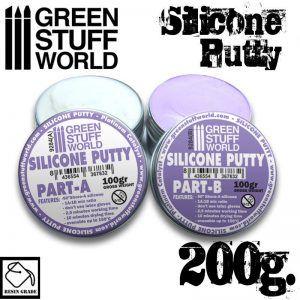Masilla De Silicona Violeta 200gr