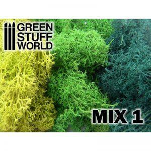 Musgo – Mezcla Verdes