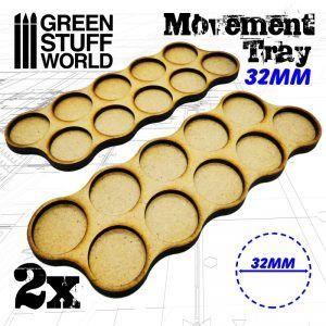 Bandejas De Movimiento DM 32mm X10 – Hostigador