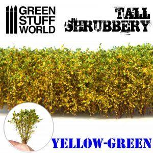 Arbustos Altos – Amarillo Verde