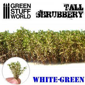 Arbustos Altos – Blanco Verde