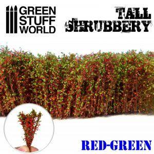 Arbustos Altos – Rojo Verde