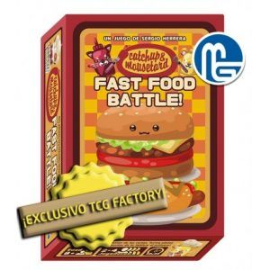 CATCHUP & MOUSETARD – FAST FOOD BATTLE!