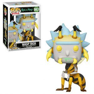 POP! Animation Rick And Morty: Wasp Rick 663