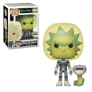 POP! Animation Rick And Morty: Space Suit Rick With Snake 689