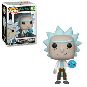 POP! Animation Rick And Morty: Rick With Crystal Skull 692