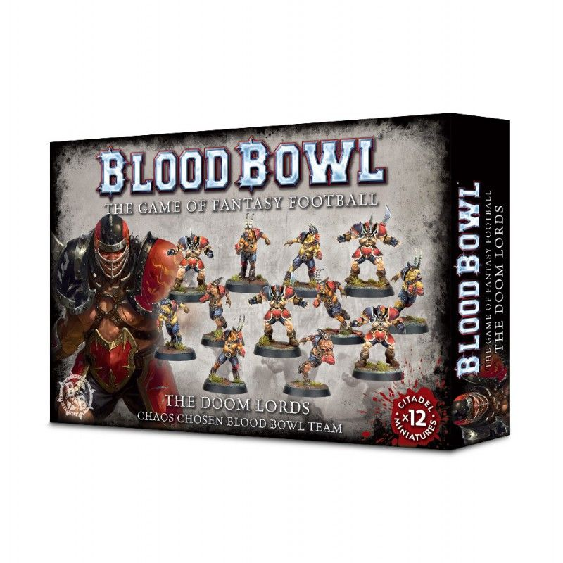 Blood Bowl The Doom Lords Team