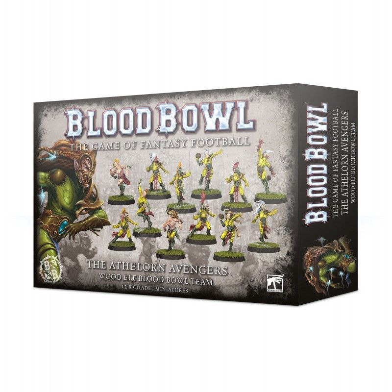 Blood Bowl The Athelorn Avengers Team