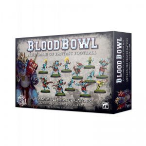 Blood Bowl Gwaka'moli Crater Gators Team