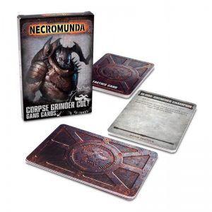 Necromunda: Corpse Grinder Gang Cards (Inglés) (300-51-60)