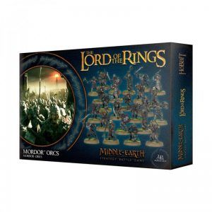 Middle Earth Strategy Battle Game: Mordor Orcs (30-33)