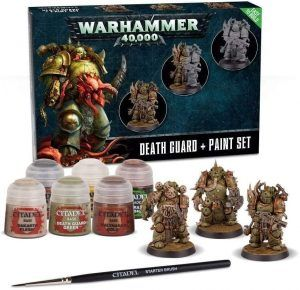 Death Guard: Paint Set (60-27-60)