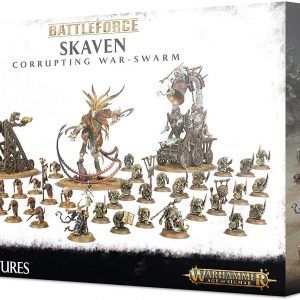 Battleforce Skaven Corrupting War Swarm