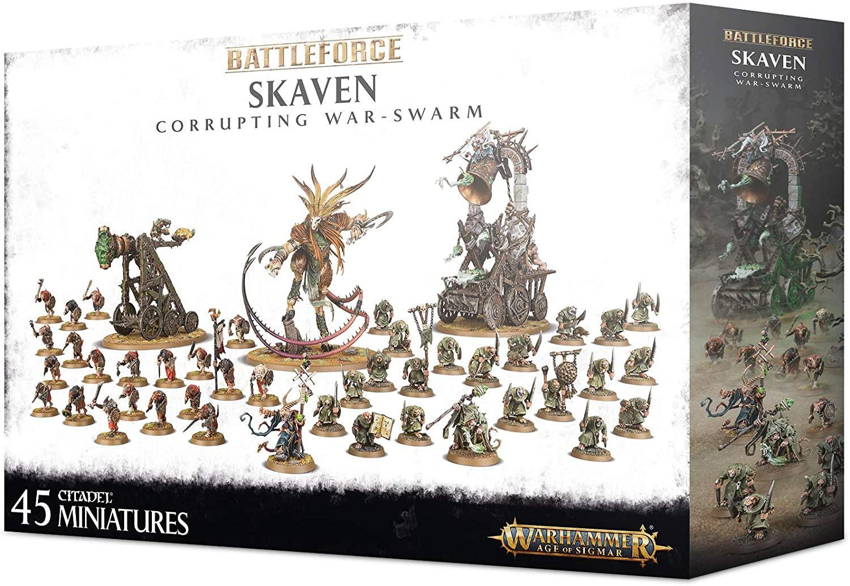 Battleforce Skaven Corrupting War Swarm