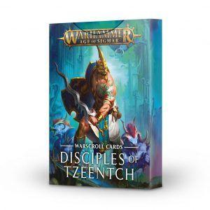 Warscroll Cards: Disciples Of Tzeentch – Castellano