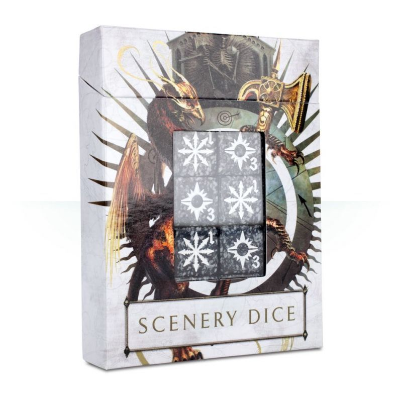 AGE OF SIGMAR: SCENERY DICE