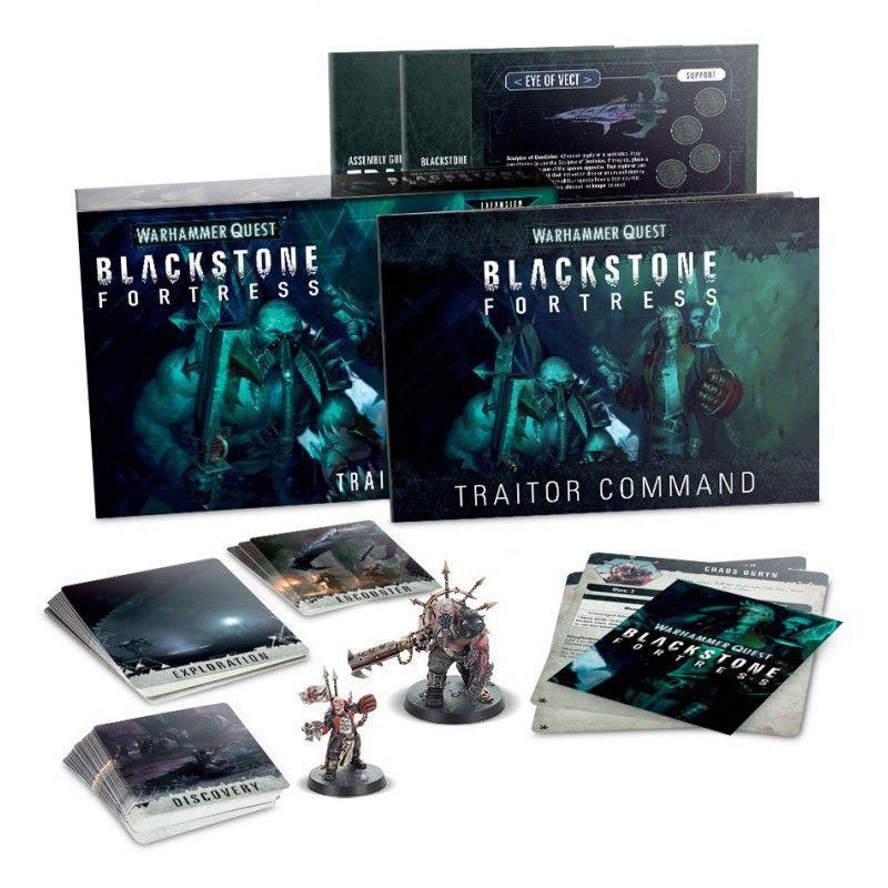 Black Stone Fortress: Traitor Command / Mando Traidor (Castellano)