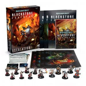 Blackstone Fortress: Escalation / Escalada (Castellano) (BF-05-03)