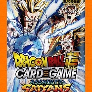 Dragon Ball Super Card Game: Booster Pack – Assault Of The Saiyans